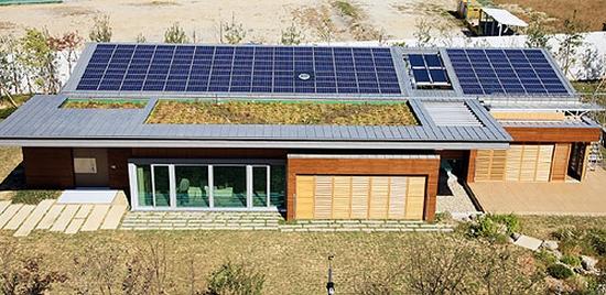 Eco homes samsung c t unveils zero energy green tomorrow for Tomorrow homes