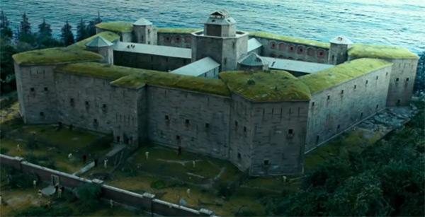 Green Roof Shutter Island' Prison