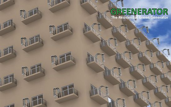 Greenerator Powers Your High Rise Apartment By Extending