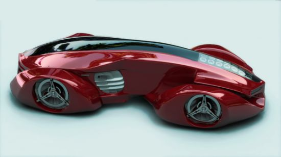 Eco Cars H Car Concept Incorporates Wind Harvesting