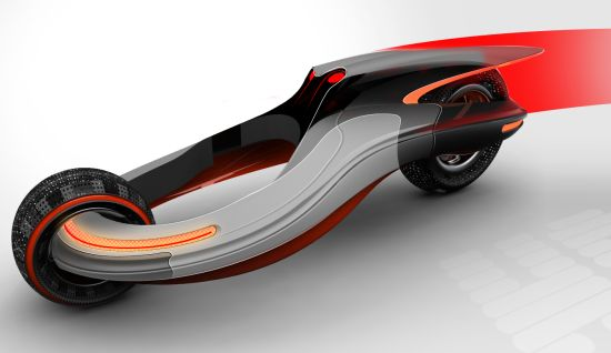 Halo Concept Vehicle Designed For Extreme Energy