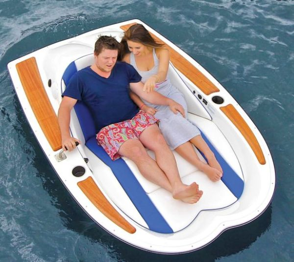 Hammacher Schlemmer's limited edition Electric Boat