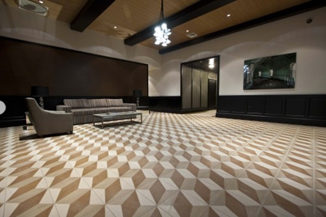 Different types of eco friendly tiles available for your for Handmade cement tiles