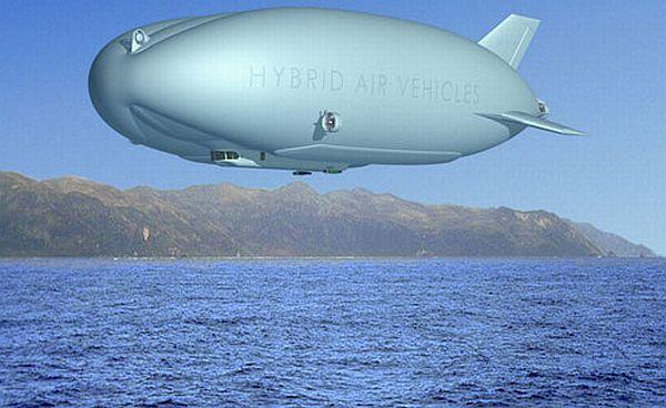 HAV's futuristic airship