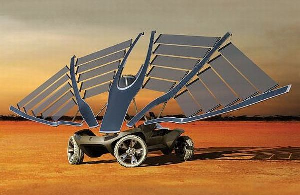 Helios Solar-powered car