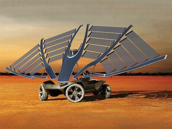 Helios solar vehicle