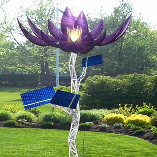 Heliotropis A Solar Powered Kinetic Sculpture Ecofriend