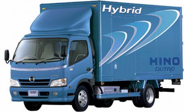 Hino Dutro Hybrids Truck