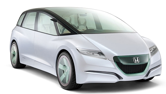 Eco Factor Low Emission Concept Car Ed By A Hybrid Engine