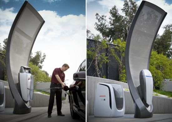 Honda Debuts Solar Powered Hydrogen Fueling Station
