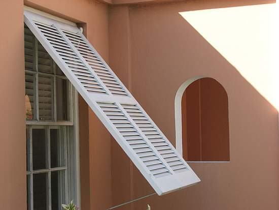 Hurricane shutters for your window