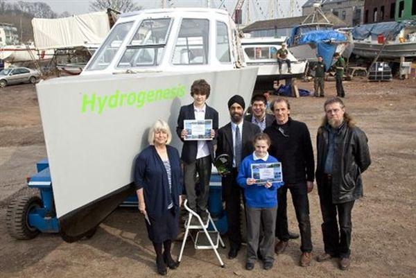Hydrogen-powered ferry