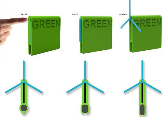 i système de chargement de bicyclette verte 2