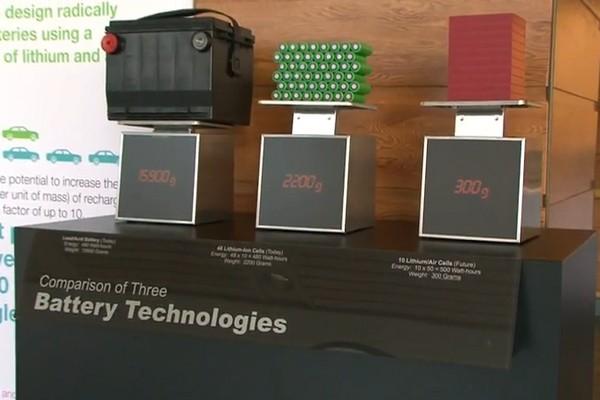 IBM's lithium-air battery