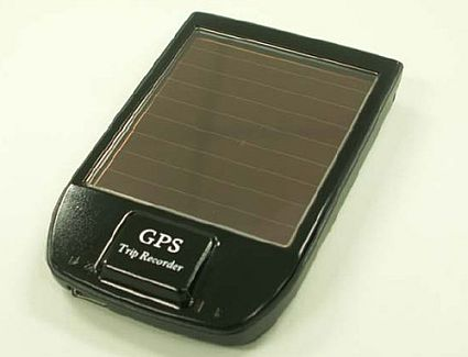 ibt gps solar bluetooth gps data logger