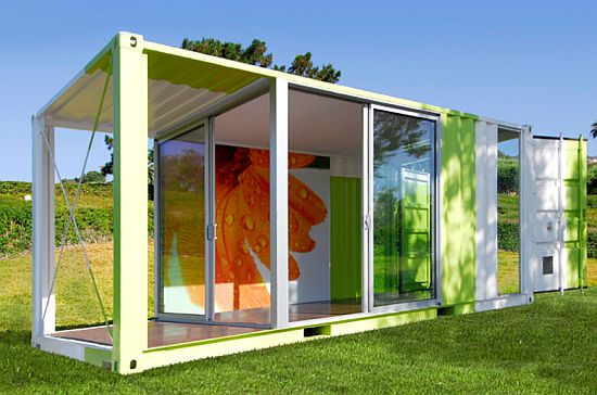 Eco homes recycled shipping containers converted into trendy homes ecofriend - Shipping containers converted into homes ...