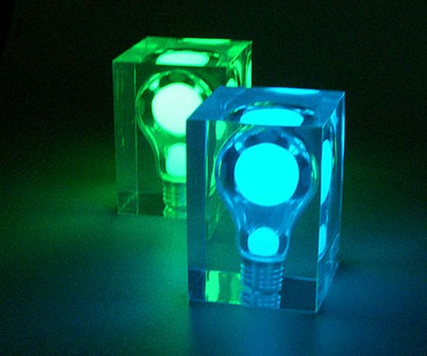 Illuminated Glow Brick Night Lights
