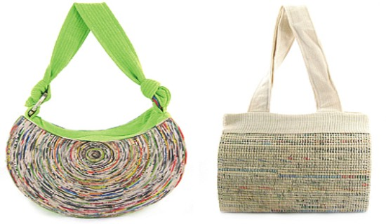 Stunning products made using recycled paper ecofriend for Latest best out of waste