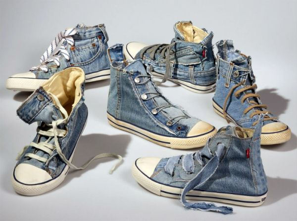 Best recycled shoes for earth lovers ecofriend - How to reuse old clothes well tailored ideas ...