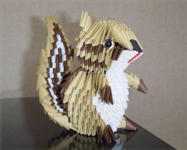recycled paper crafts  origami at its best