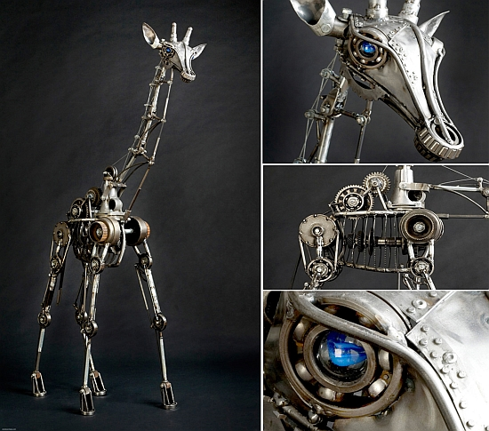 Sculptures Made From Recycled Materials