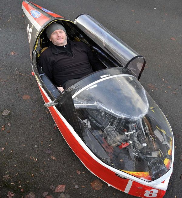 Five DIY velomobiles designed for emission free transport ...