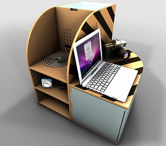 recycled cardboard furniture
