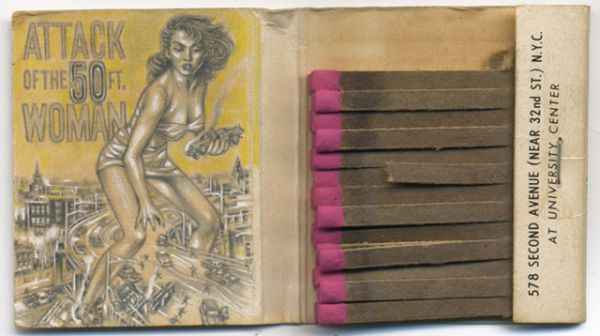 Incredible Miniature Drawings on Matchbook Covers