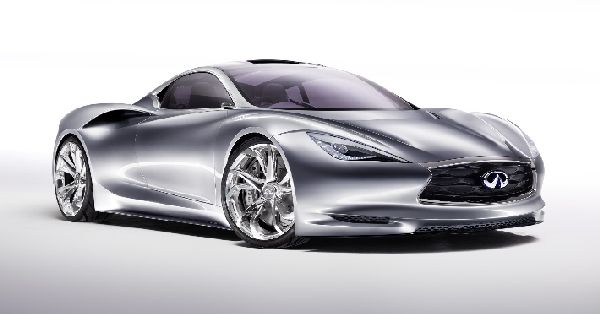 Infiniti Emerg-E electric supercar