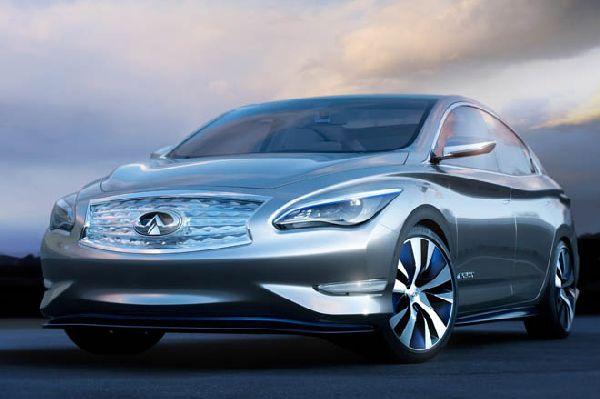 Infiniti Unveils Tesla-Fighting LE Concept
