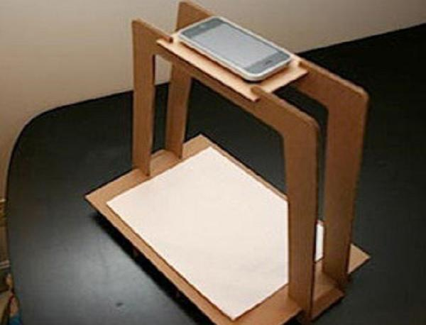 iPhone scanner