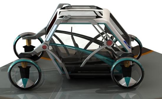jeremy richards stretch transforming car 2