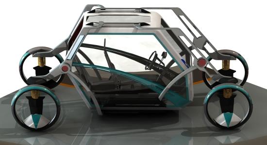 jeremy richards stretch transforming car 4