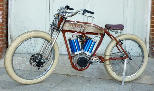 Juicer 48 motorized bicycle by Dave Twomey