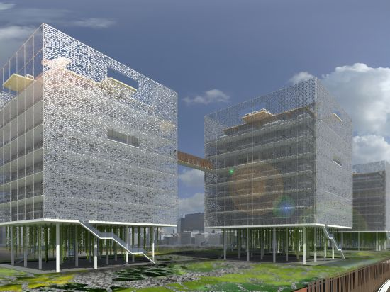 Mra design s kepos eco hotel embraces natural environment for Sustainable hotel design