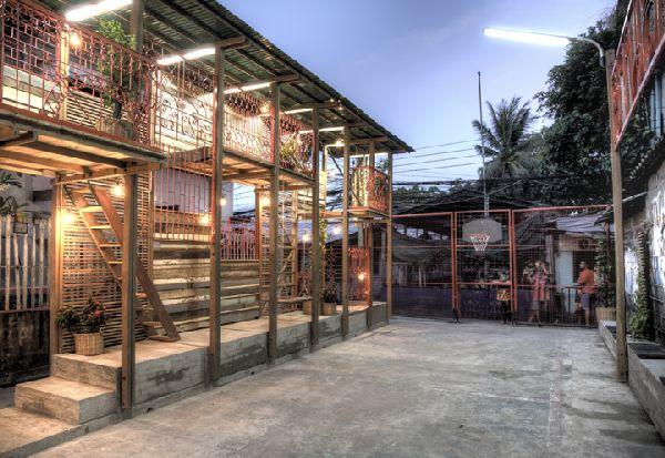 Klong Toey Community Lantern byTYIN tegnestue