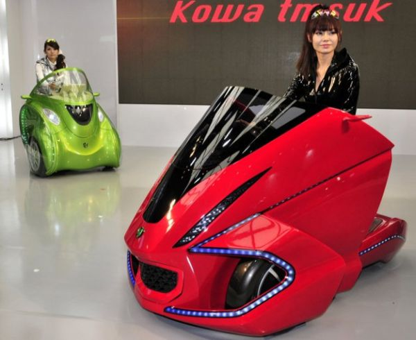 Kobot foldable electric scooter
