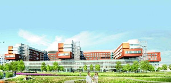 Krankenhaus Nord Wein Hospital / Arup