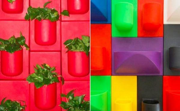 KuL Intros Recycled Modular Wall Planters