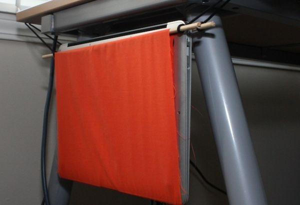 Laptop hammock