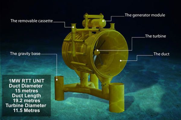 largest tidal power project
