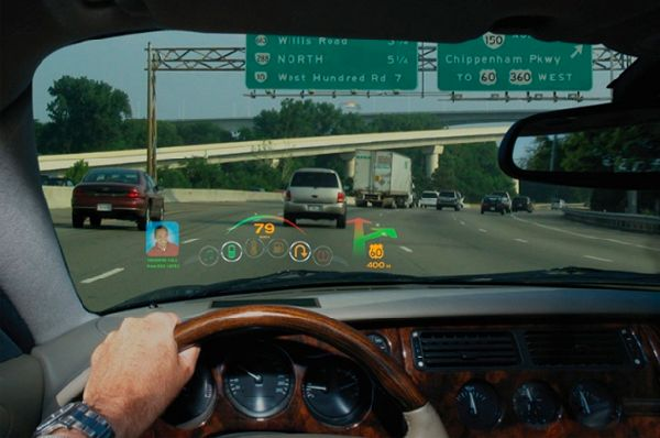Vehicle Display Systems : Laser technology to power heads up display systems for