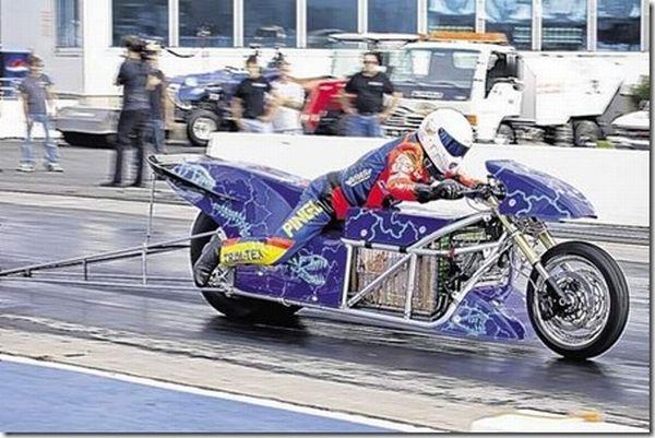 Lawless Electric Drag Bike