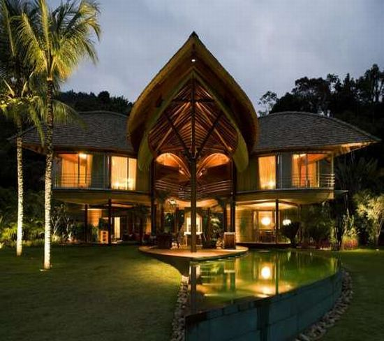 Eco firendly architecture the leaf house aesthetic for Aesthetic house design