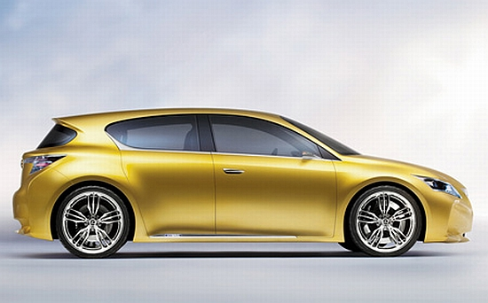 The Five Door Hatch Features Same Hybrid Train As Hs250h Sedan Which Is Under Production Vehicle Also Comes Equipped With Lexus Remote