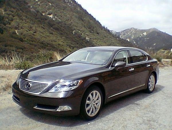 Lexus hybrid sedan