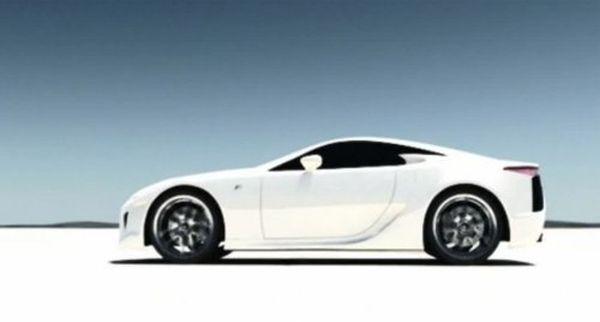 Lexus LFA-h Pumps Hydrogen for the Street