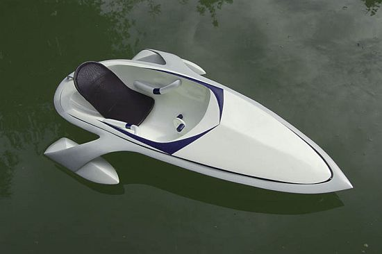 Once Driven Reviews >> Eco Boats: Paddleboat with an onboard battery for high speed boating - Ecofriend