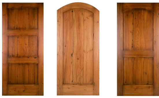 Enter the eco world through reclaimed wood doors ecofriend for Recycled interior doors
