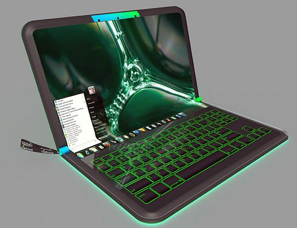 Lifebook Leaf Multipurpose Laptop Concept Is Powered By